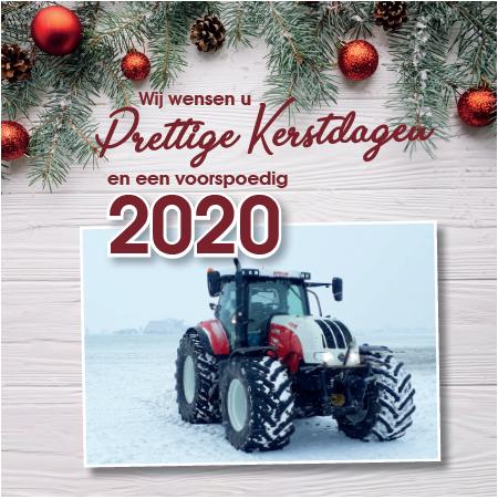 Prettige kerstdagen en een voorspoedig 2020